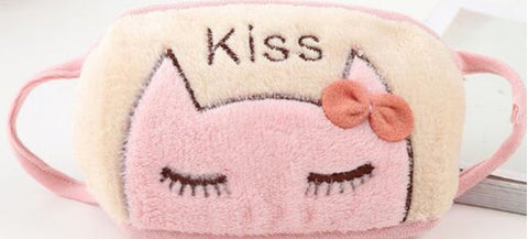 Fuzzy Kitty kisses hair- BOW Face Masks (SOLD OUT)