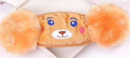 Kid's FUZZY FOX Face Masks