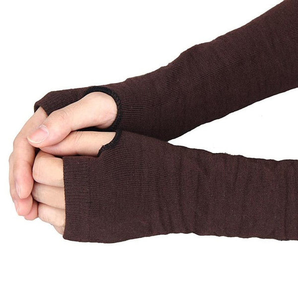Women Knitted Hand Warmer Gloves (Fingerless)