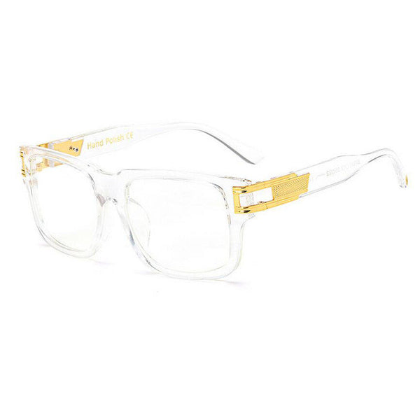 LUX - Plastic Eyewear (clear gold glasses)