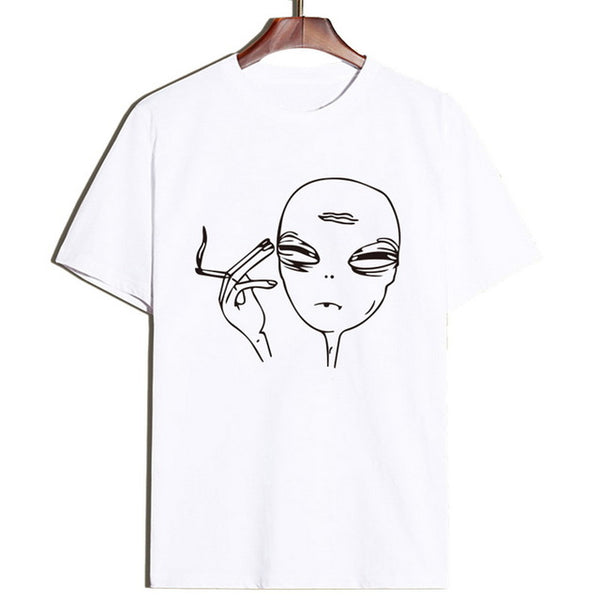 High Alien Planet Puff T-shirt
