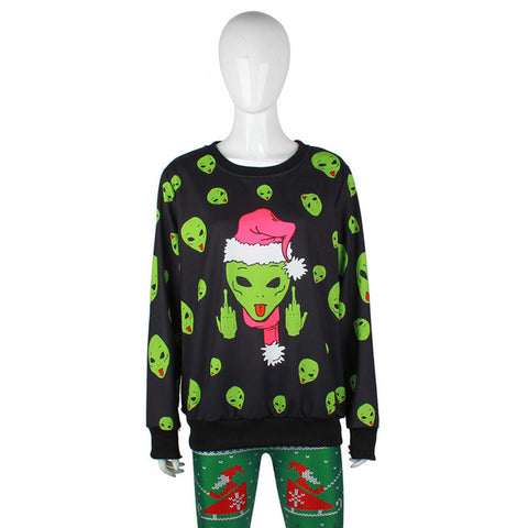 Alien Christmas Sweater (Sci-Fi Xmas)