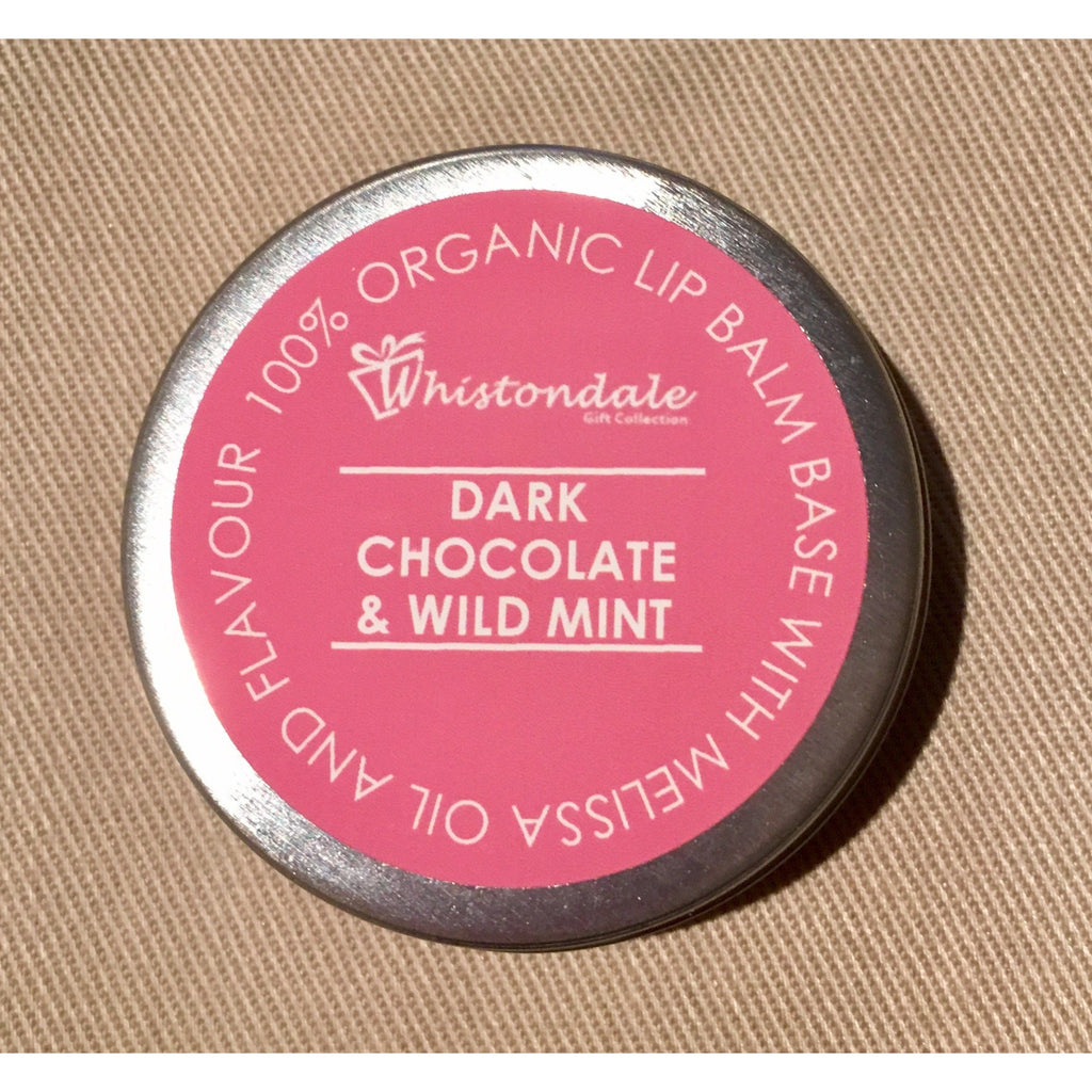Organic Lip Balm - Dark Chocolate & Wild Mint