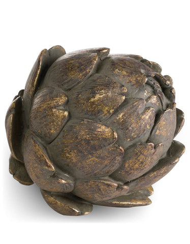Antique Bronze Large Artichoke