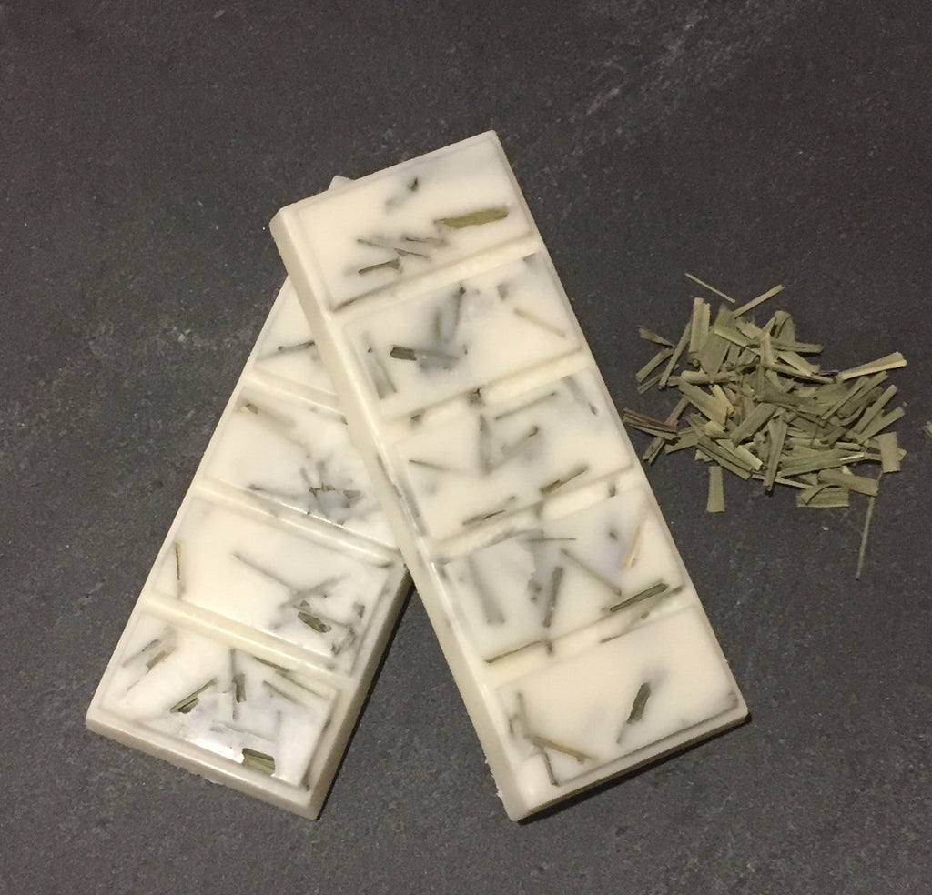 Wax Melt Bar Home Fragrance - Lemongrass & Persian Lime
