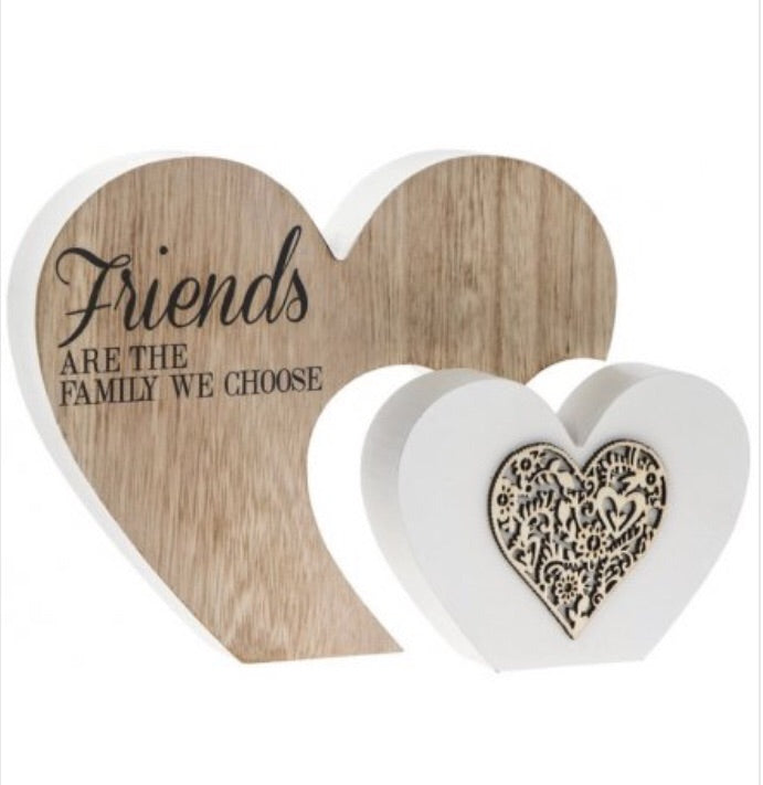 Friends are Family Double Heart Block
