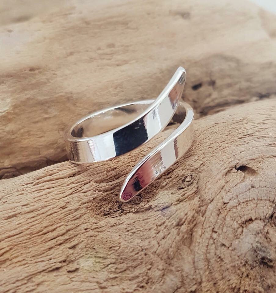 Simply Silver Adjustable Ring
