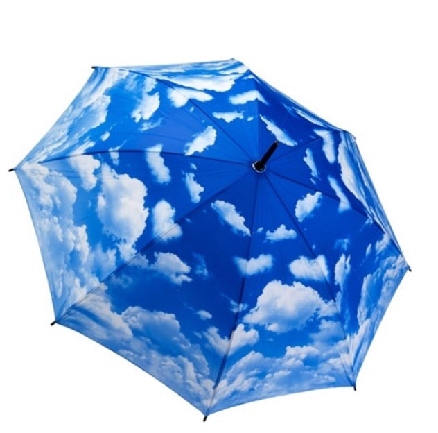 Cloud Themed Automatic open/close Folding Umbrella