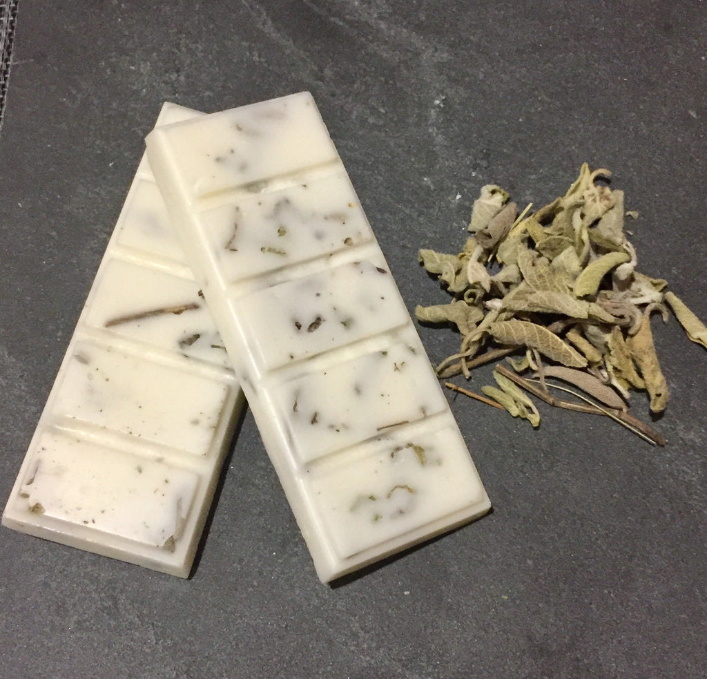 Wax Melt Bar Home Fragrance- Wood Sage & Sea Salt