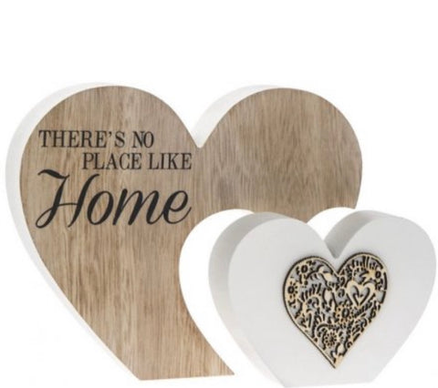 Theres No Place Like Home Double Heart Block