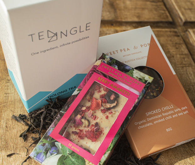 The Fierce Mum – Rock Oolong and Artisan Chocolate Gift Pack