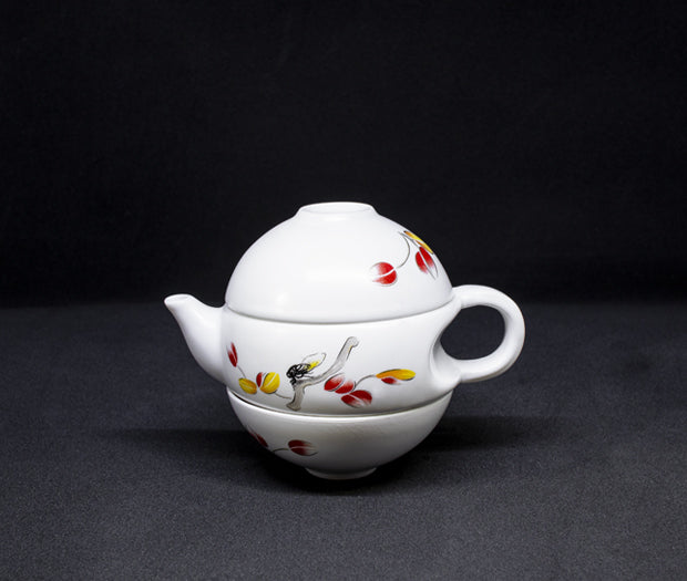 Little White Teapot Sets
