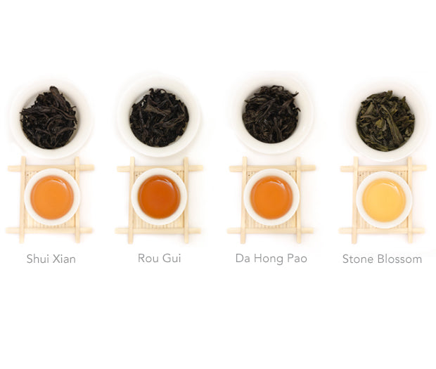 Wuyi Rock Tea Sampler
