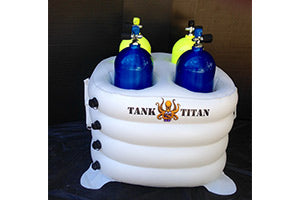 Inflatable Dive Tank Holder