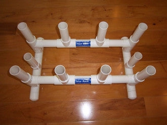 Pvc Fishing Rod Holder 10 Place Cool Water Products
