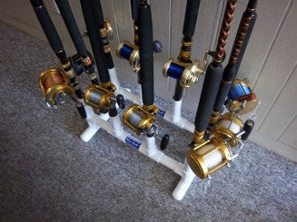 PVC Fishing Rod Holder (10 Place)