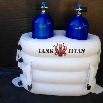 Tank Titan Inflatable Dive Tank Holder (Two Place)