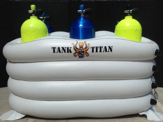 Tank Titan Inflatable Dive Tank Holder (Six Place)