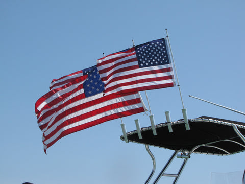 6' Rod Holder Flagpole - No Flag