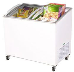 BROMIC Curved Glass Chest Freezer CF0300ATCG