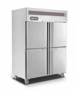 ANVIL-AIRE Upright Double Split door S/S Fridge 1200L - EUS1142