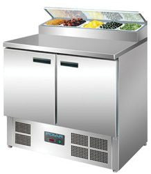 POLAR 2 Door Refrigerated Prep Counter G604