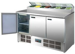 POLAR 3 Door Refrigerated Prep Counter G605