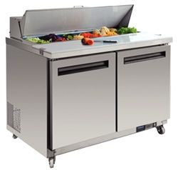 POLAR 2 Door Prep Table GD882-A