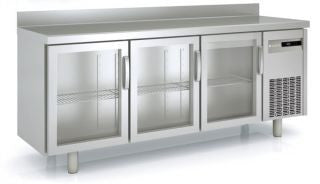 Coreco MRSV-150 Snack Two Glass Door Under Bench Chiller