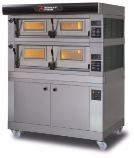 MORETTI FORNI COMP P120E A2 HITECH ELECTRIC MODULAR DOUBLE DECK OVEN With PROVER