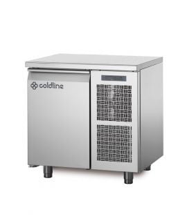 COLDLINE TP09/1MQ 1 DOOR 'MASTER' 600mm  REFRIGERATED COUNTER