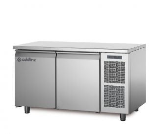 COLDLINE TP13/1MQ 2 DOOR 'MASTER' 600mm  REFRIGERATED COUNTER
