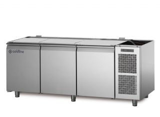 COLDLINE TS17/1MQ 3 DOOR 'MASTER' 600mm  REFRIGERATED COUNTER