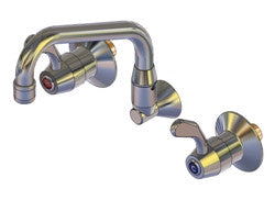CERAMIC DISC FAUCETS WITH SWING SPOUNTS & CONCEALED MIXER - YX315