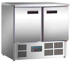 POLAR 2 Door Counter Refrigerator U636