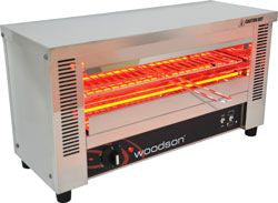 WOODSON WGTQI4-SCH Infra-Red Toaster Griller