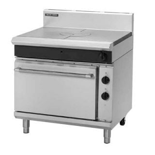 Blue Seal GE570 900mm Gas target top eletric static oven