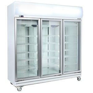 Bromic - 3 Glass Door Fan Forced Chiller 1507L w/Lightbox - GD1500LF