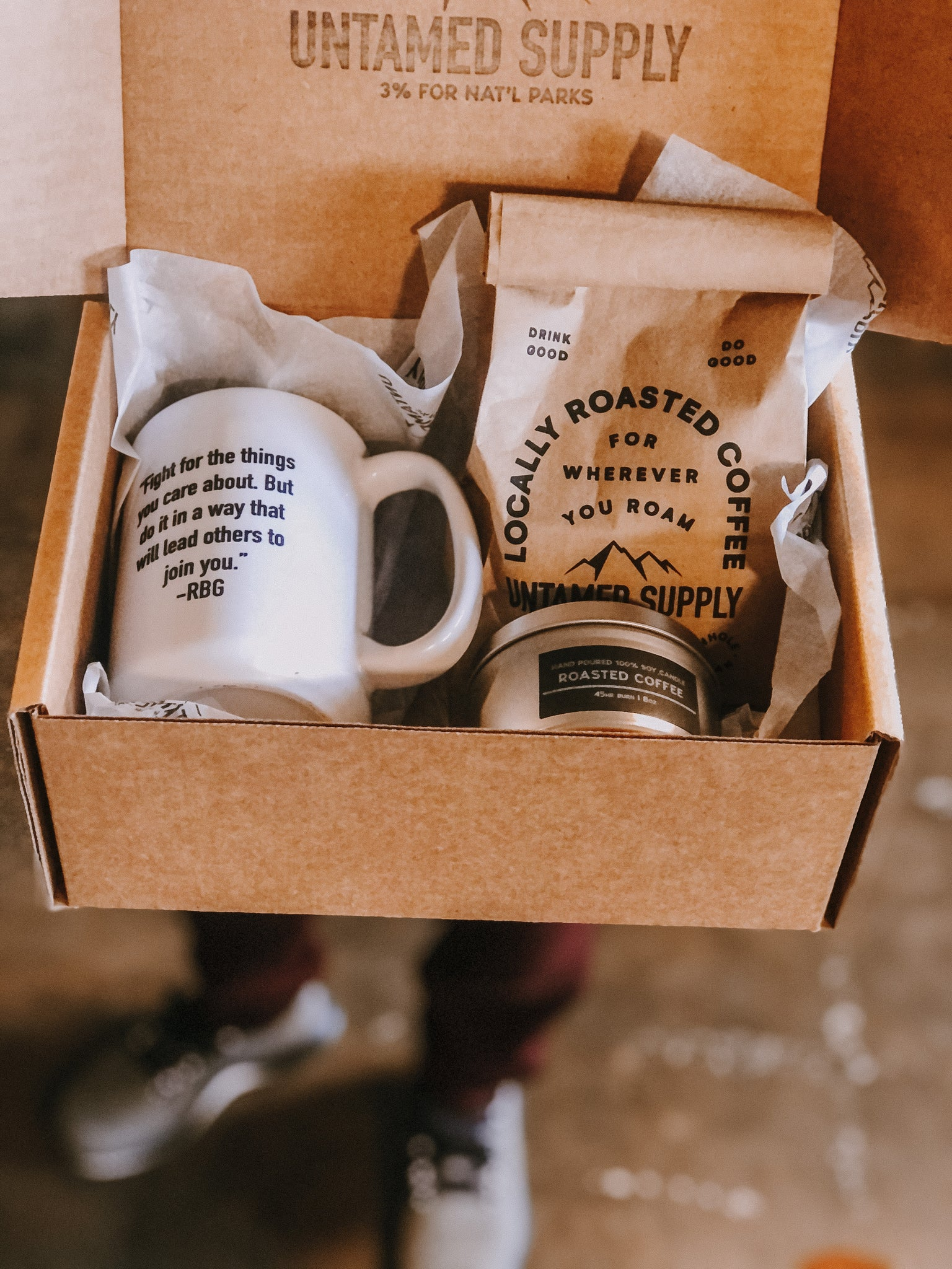 Coffee Lover Gift Crate