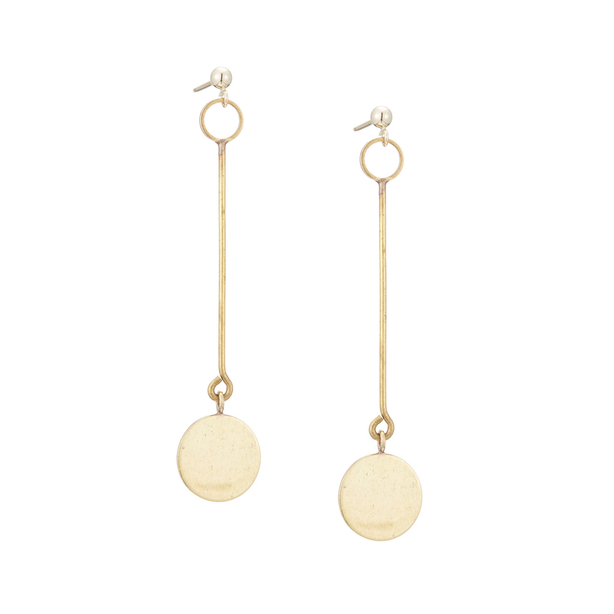 particle earrings
