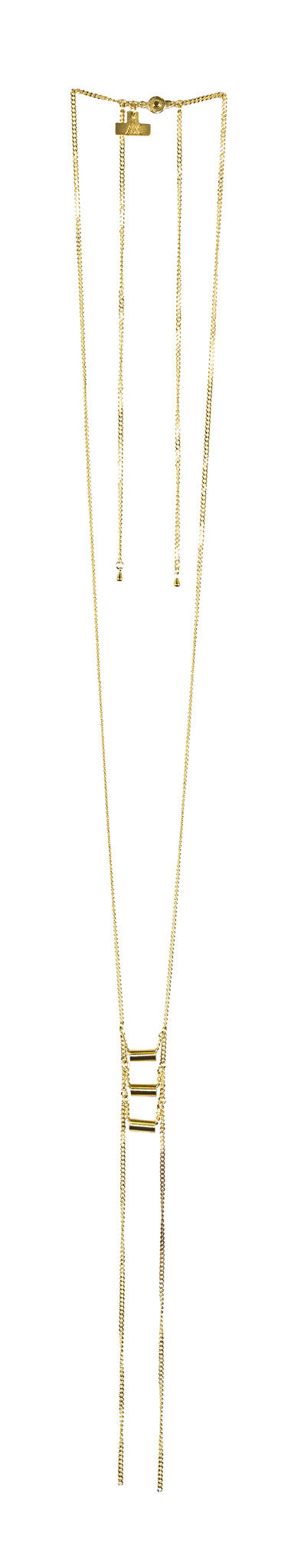 initiation necklace - gold