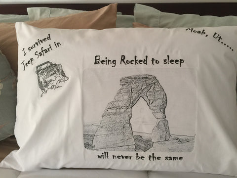 Moab Event Pillowcases