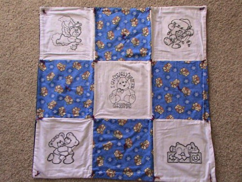 Christmas Bears Baby Blanket