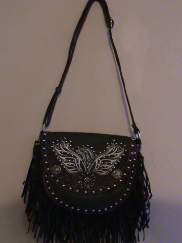 Satchel Purse, Phoenix Rising