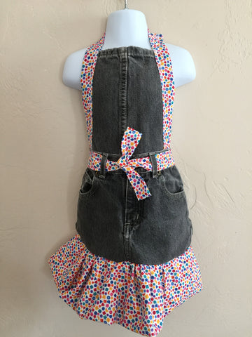 Child's size Full Apron Buttons and Blocks