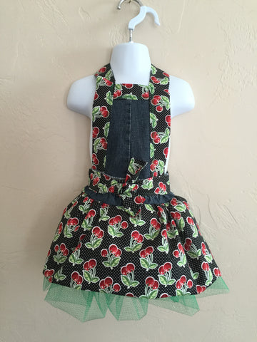 Child's size Full Apron Cherry Sweetness