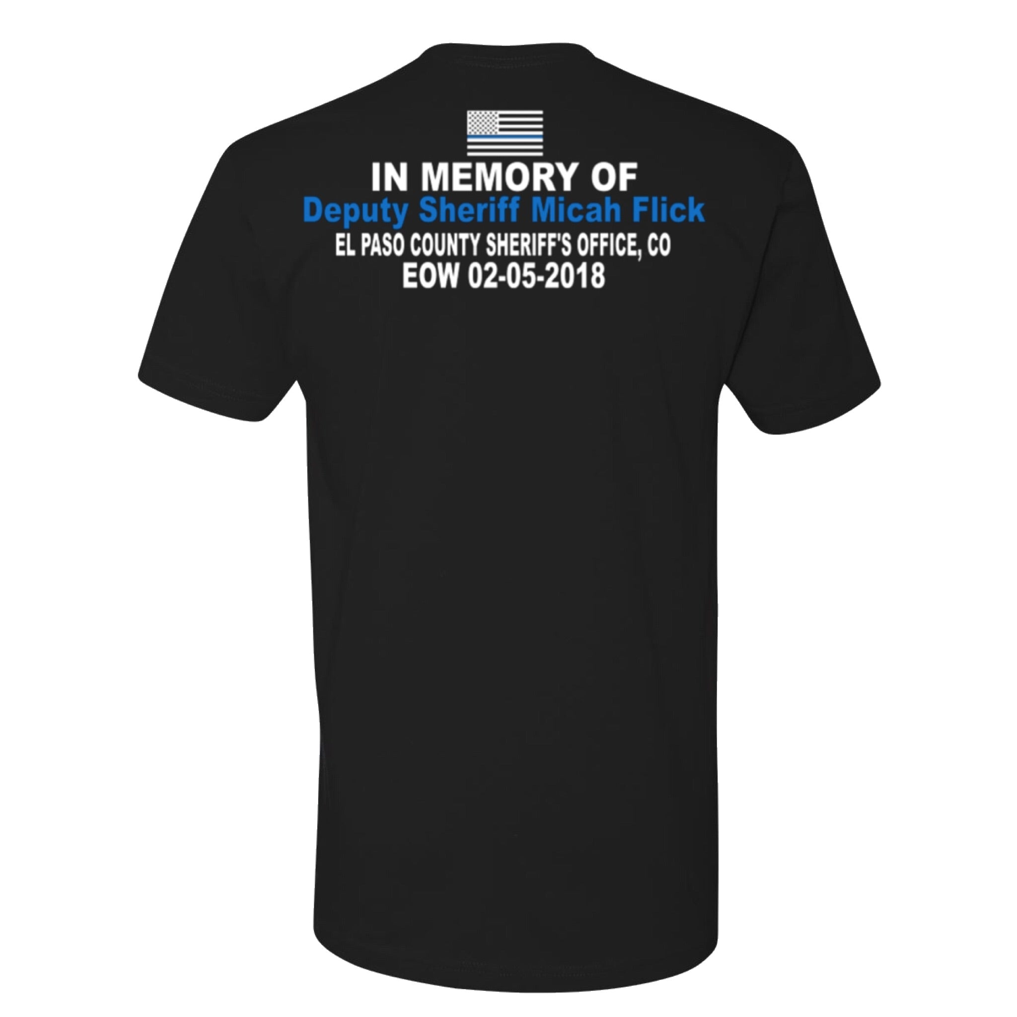 Deputy Micah Flick Memorial Shirt