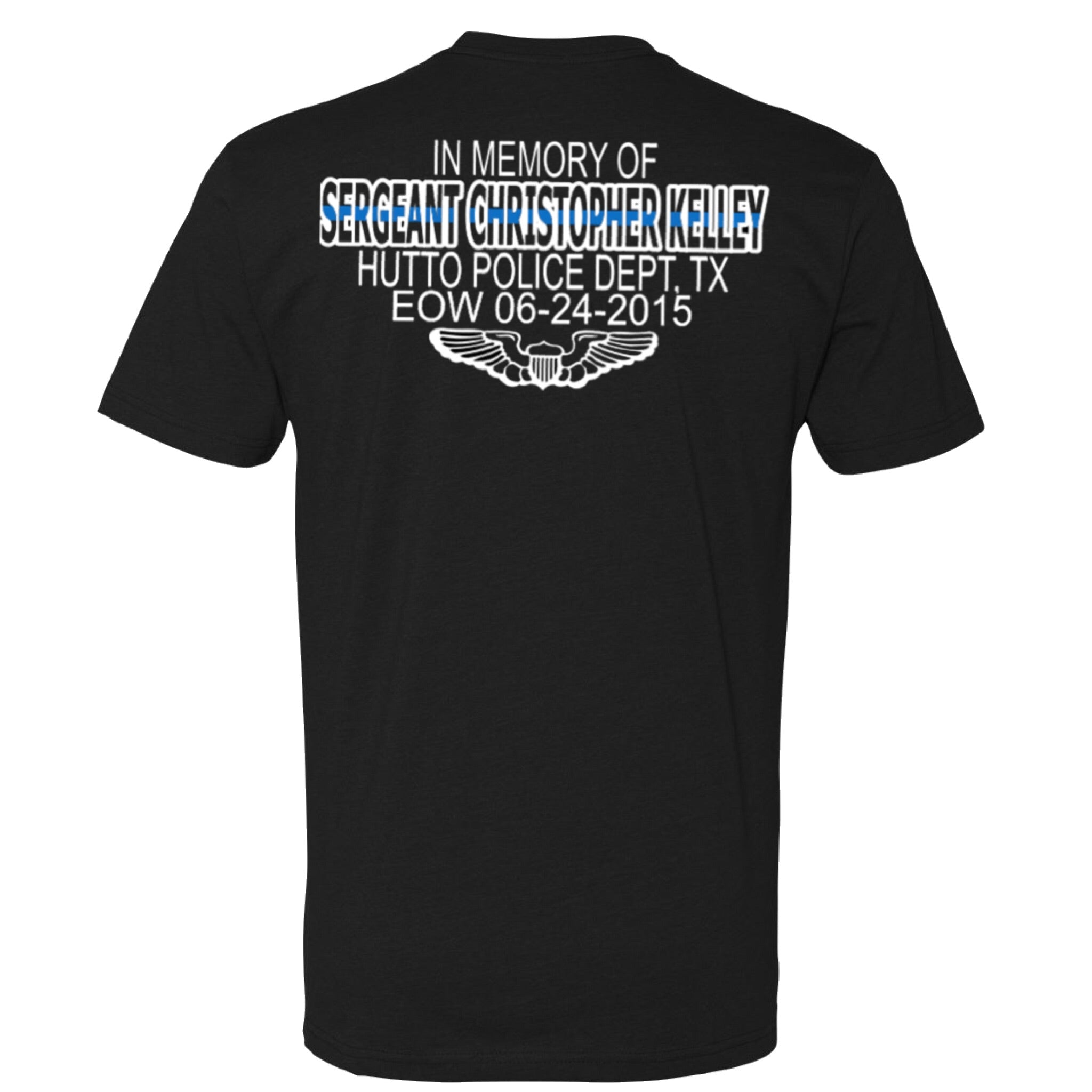 Sergeant Christopher Kelley Memorial Shirt