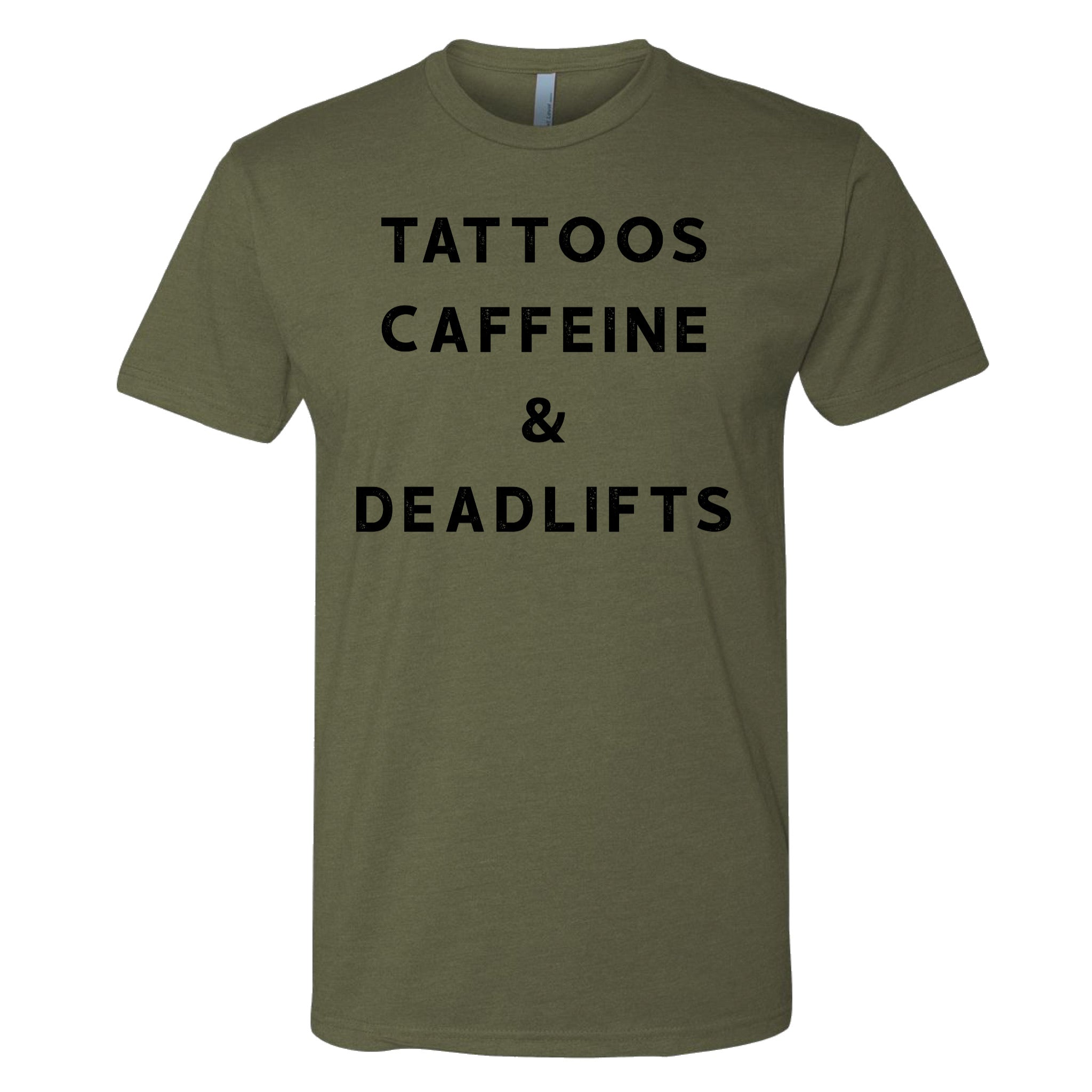 Tattoos, Caffeine, & Deadlifts