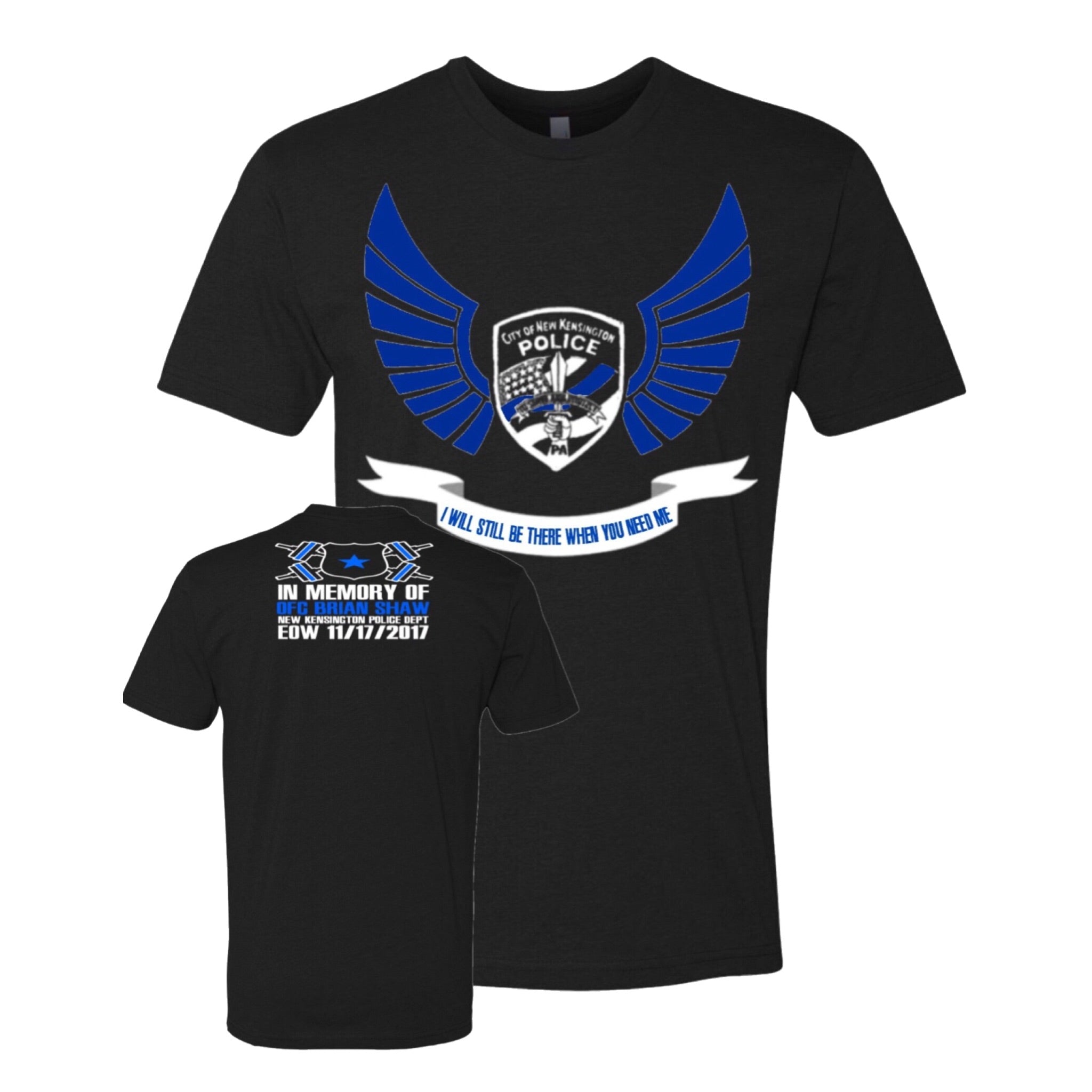 Official Officer Brian Shaw Memorial Shirt